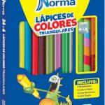 P2231 - Lapices de colores triangulares